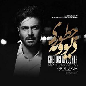 دانلود آهنگ جدید محمدرضا گلزار بنام چطوری دیوونه